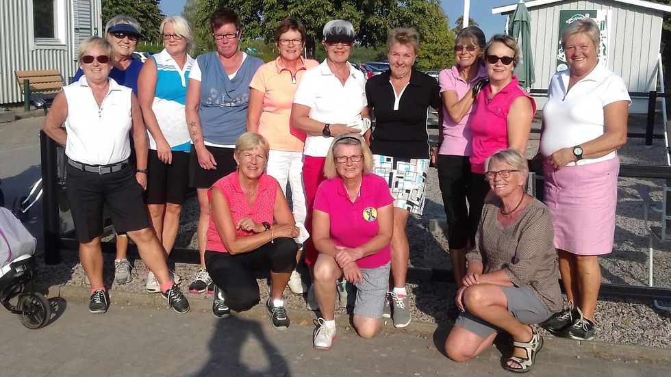 Finalspel i Damtouren Småland
