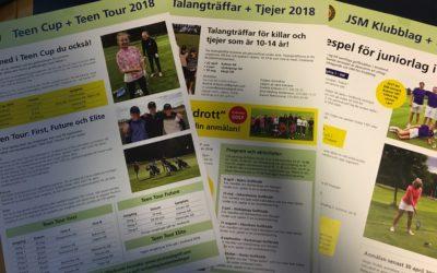 Aktivtetsprogram för Juniorverksamheten 2018